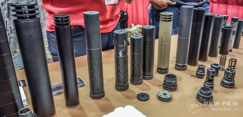 Best Suppressor Companies [2019]:  22LR, 9mm, 5 56 - Pew Pew