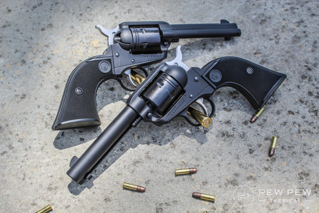 A pair of Ruger Wranglers