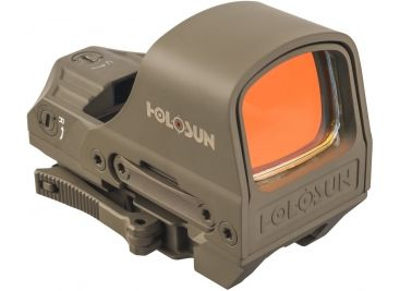 Holosun 1x Open Reflex Sight, Night Vision Compatible HS510C