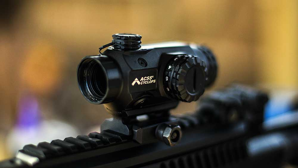 Primary Arms Compact Prism Mounted