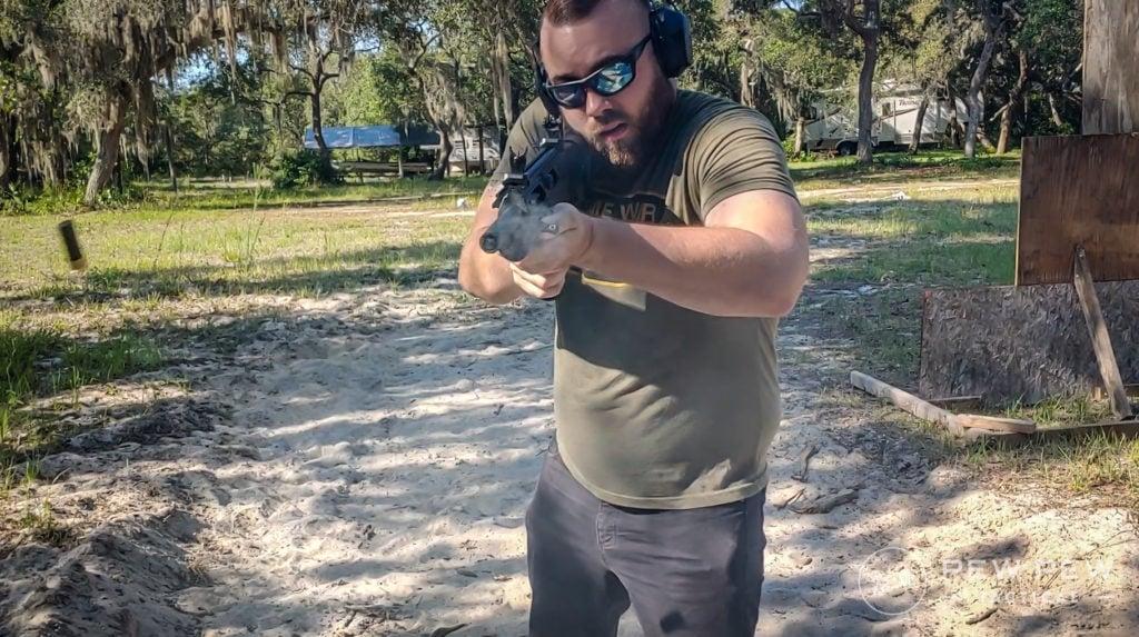 Rock Island Armory VR Firing