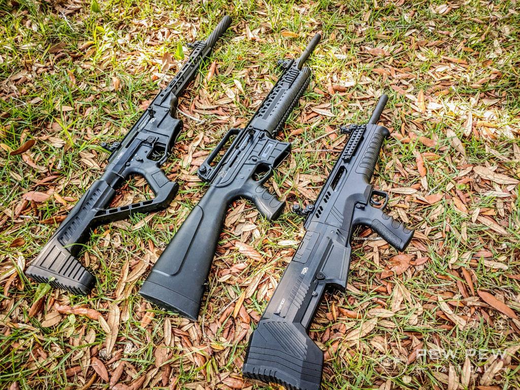 Rock Island Armory VR60, VR80, and VRBP-100 Shotguns Side View