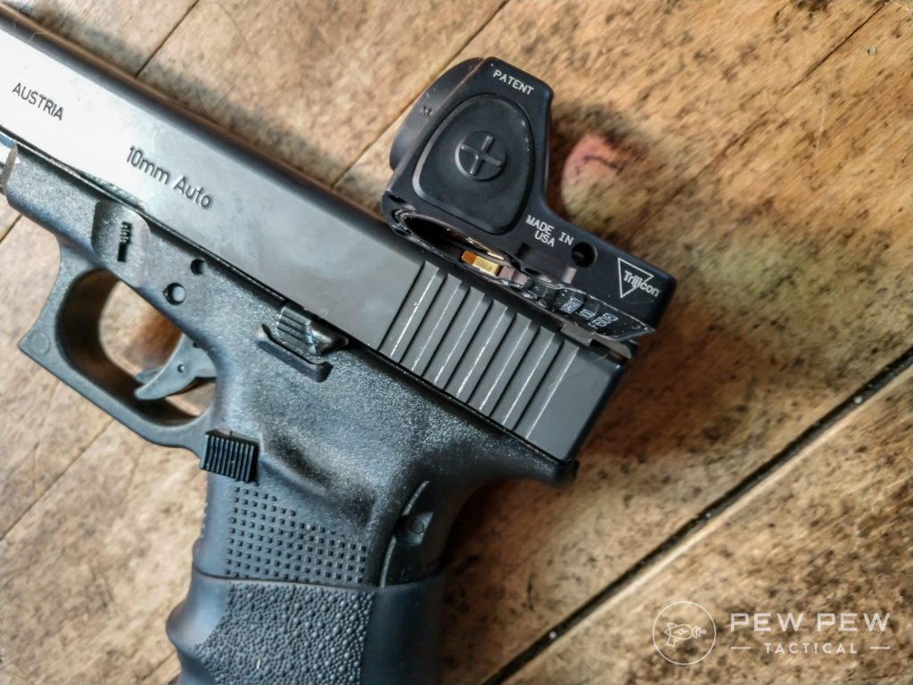 Trijicon SRO and Glock 20