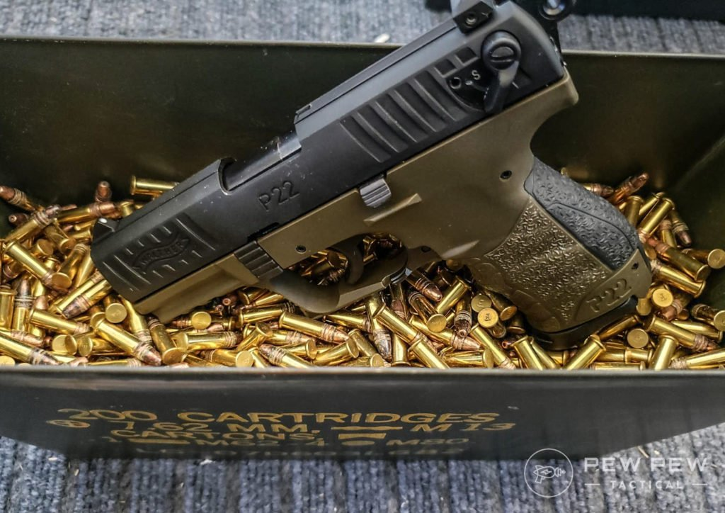 Walther P22 and ammo