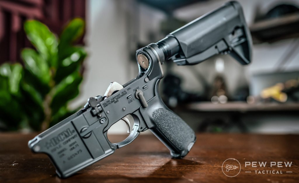 BCM Lower Receiver, Mod 0 Stock