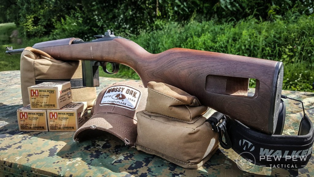 M1 Carbine and Ammo