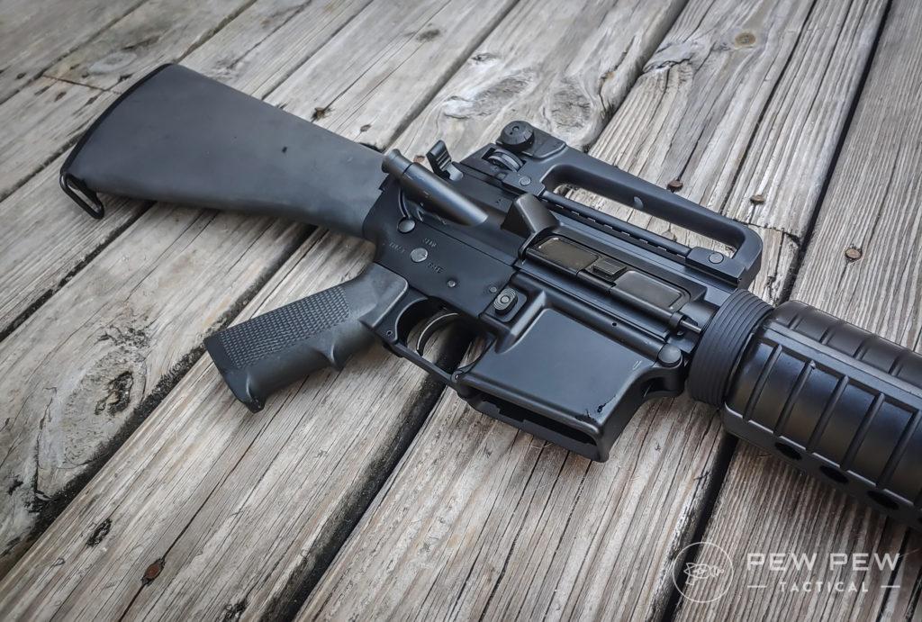 M16A4 Side