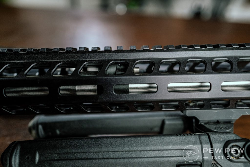 PSA Gen 3 AR-10 Adjustable Gas Block