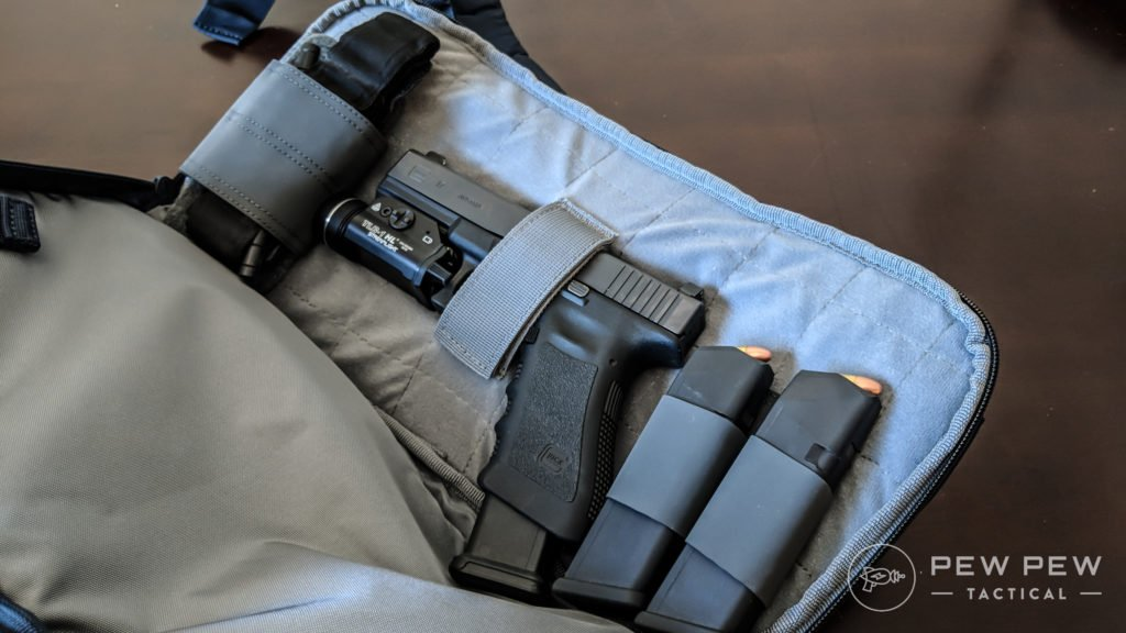 Sling Bag Velcro