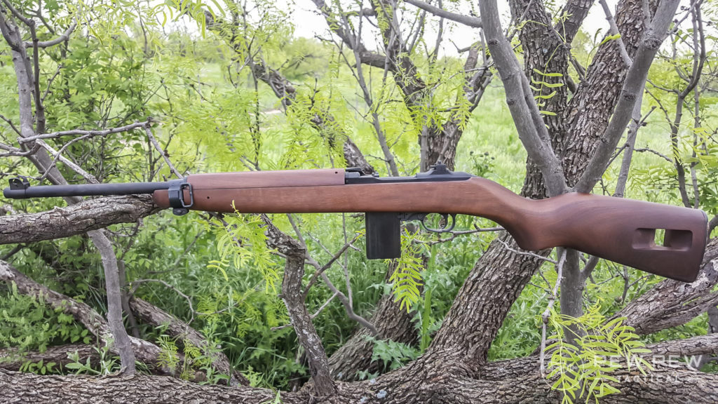 The AO M1 Carbine is easy to carry due to its lightweight.
