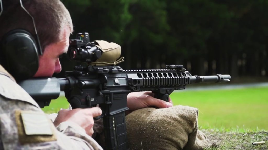 new zealand army LMT Rifle