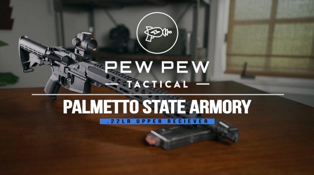 Review] PSA  22LR Upper: Best  22 AR-15 Swap? - Pew Pew Tactical