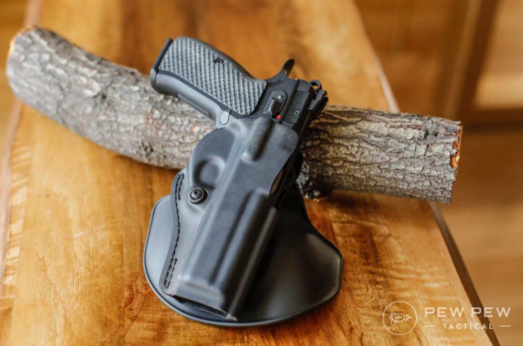 Safariland Paddle OWB Holster with SP-01