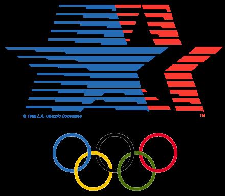 1984 Olympics logo