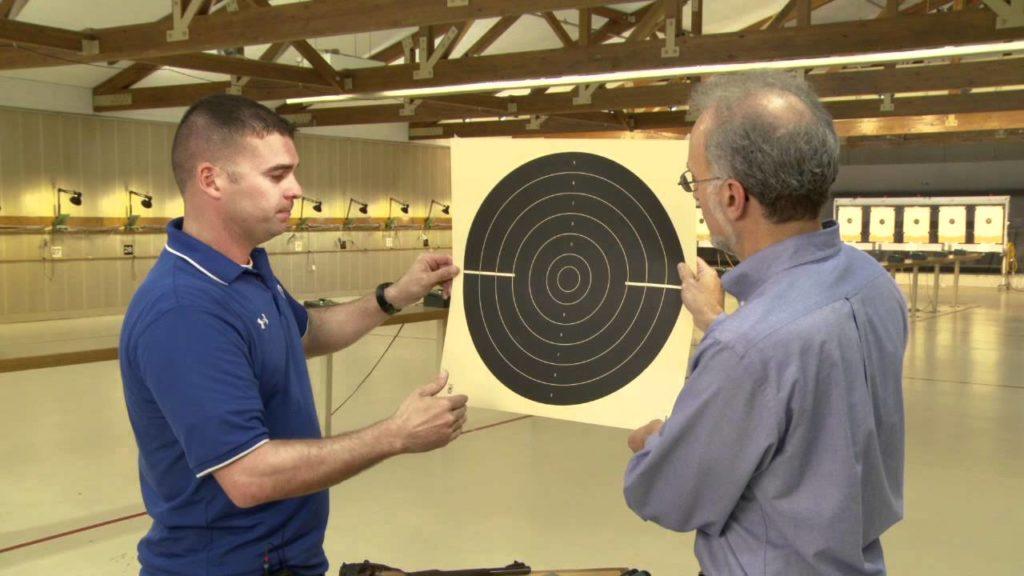 25-meter Rapid Fire Pistol target