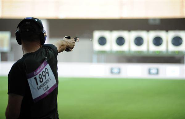 25-meter Rapid Fire Pistol