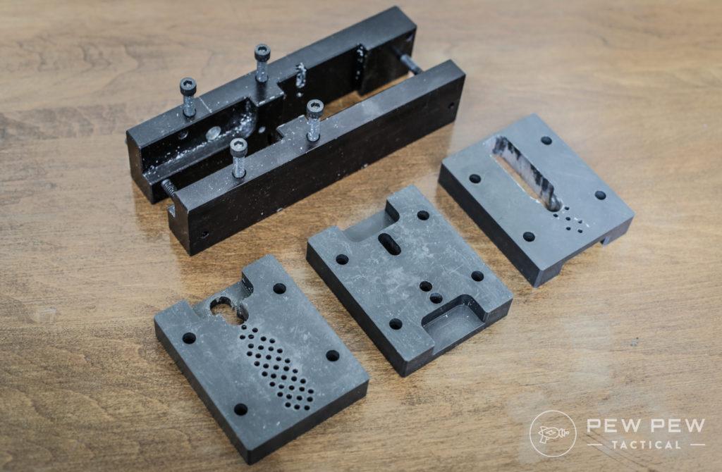 Old AR-15 80% Jig
