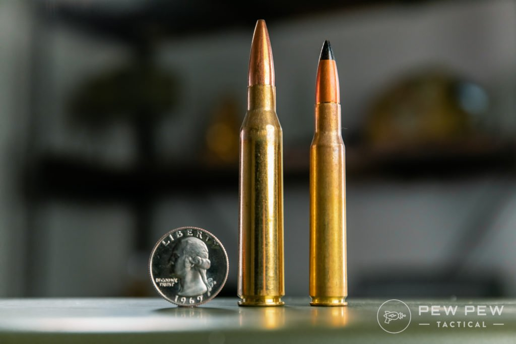 .338 Lapua vs .30-06 Black Tip