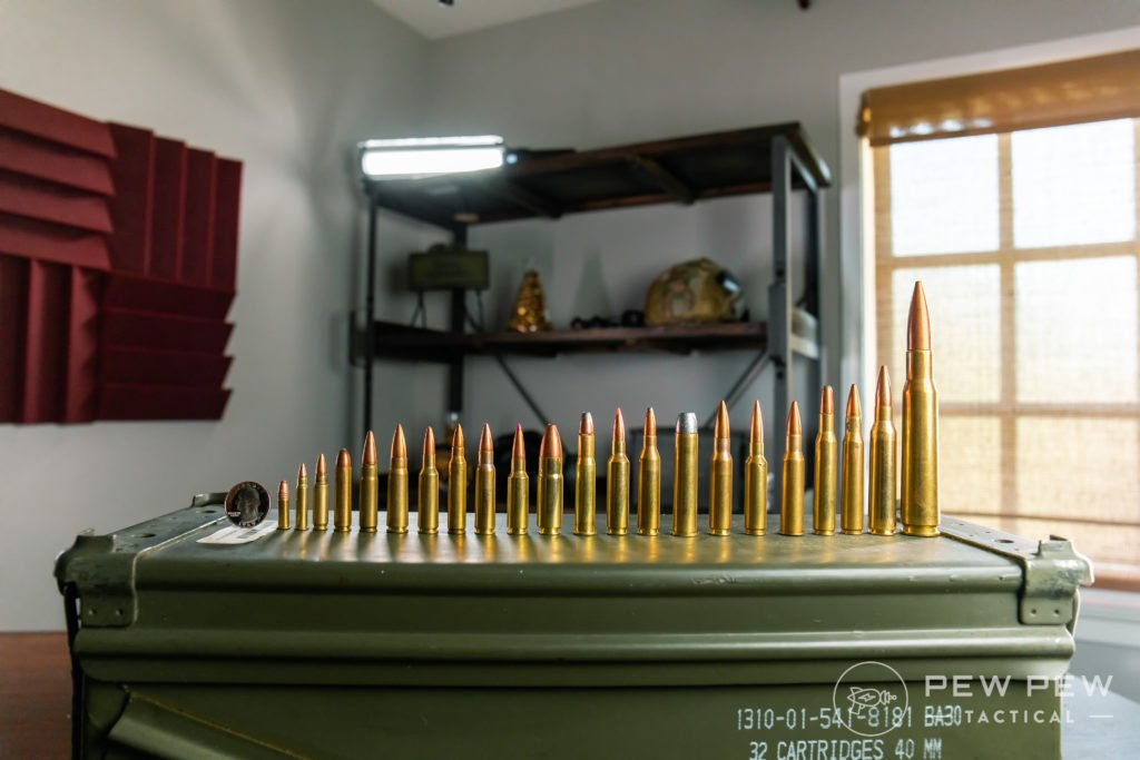 Common Calibers in Room