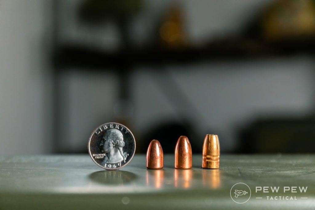 9mm (115gr vs 124gr vs 147gr)