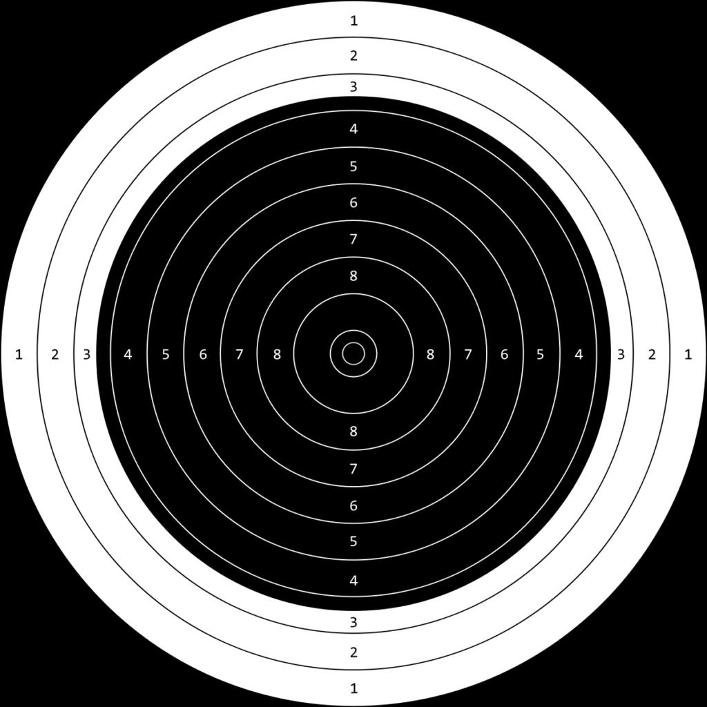 50m target