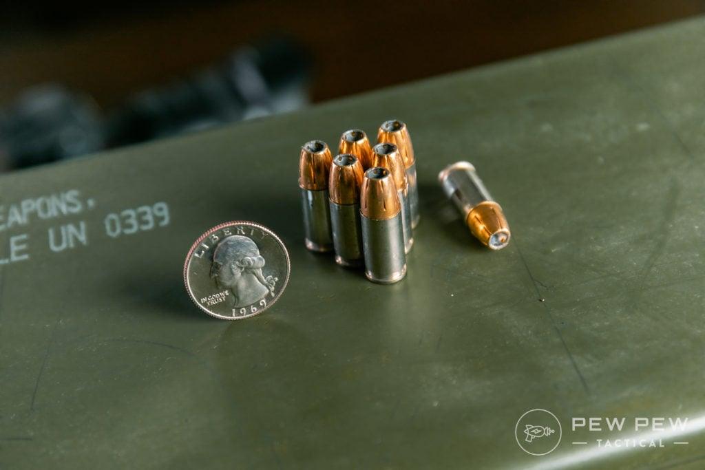 9mm 147 Federal Hydrashok HST