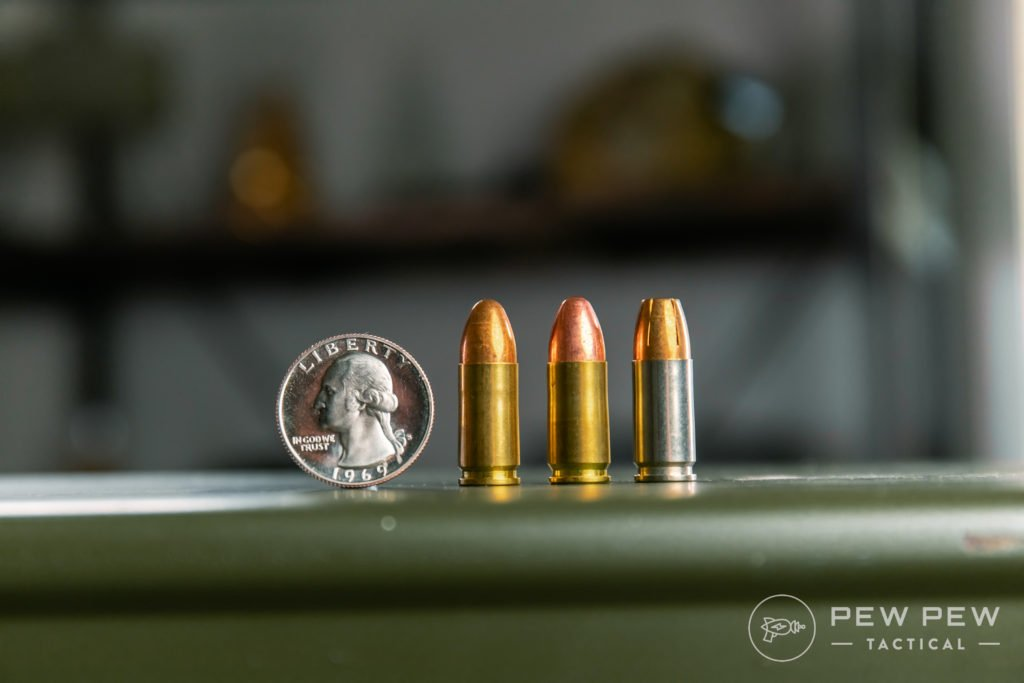 9mm (115gr vs 124gr vs 147 HP)