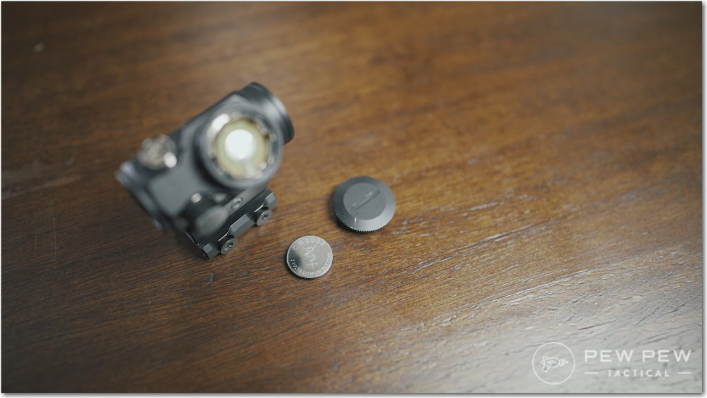 Bushnell TRS-25 Battery Compartment