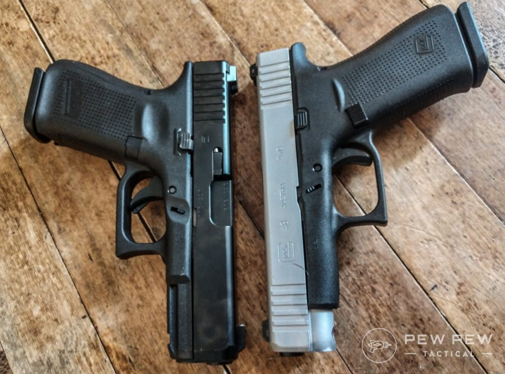 Glock G19 and G48