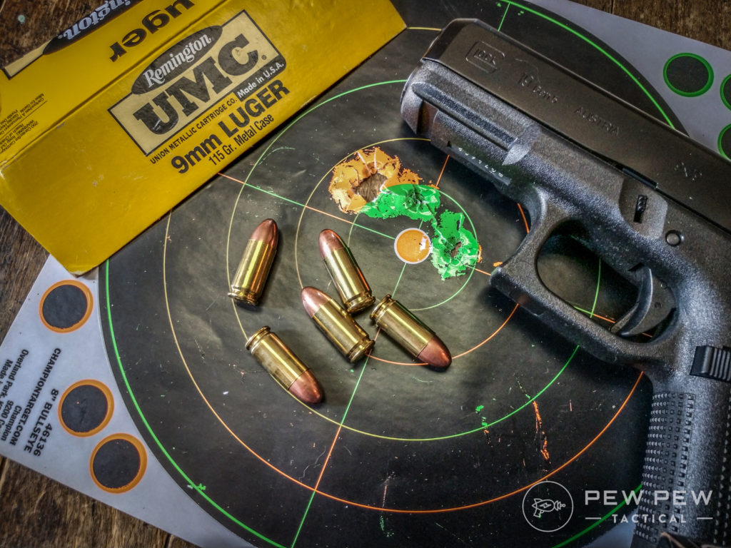 Glock G19 and Target