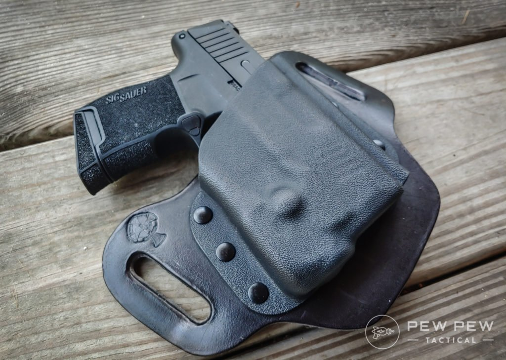 P365 in holster