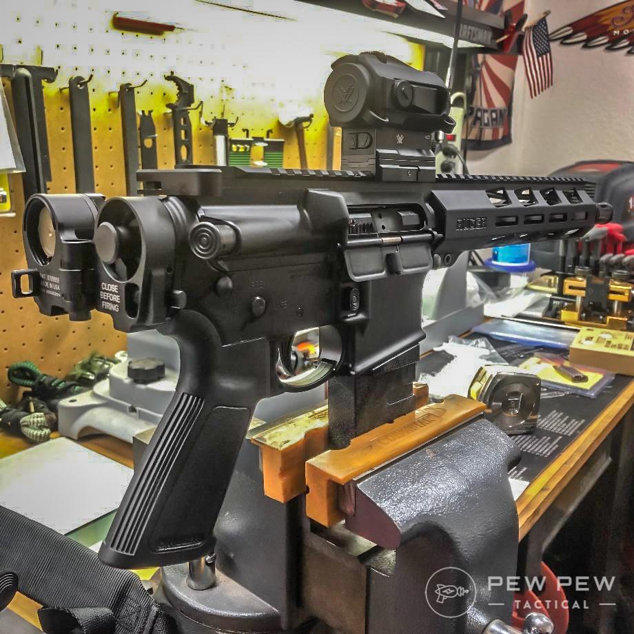 Ruger Pistol and folding adator kit