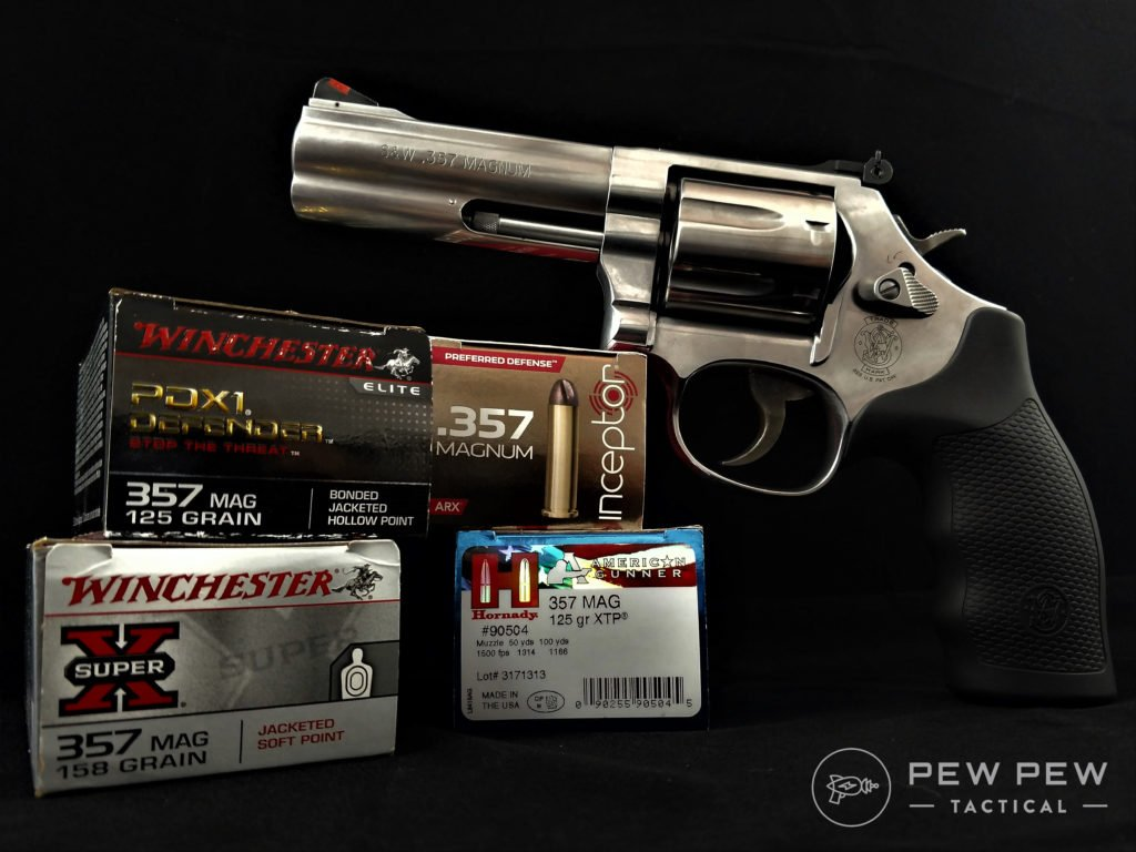 S&W 686 and .357 Ammo