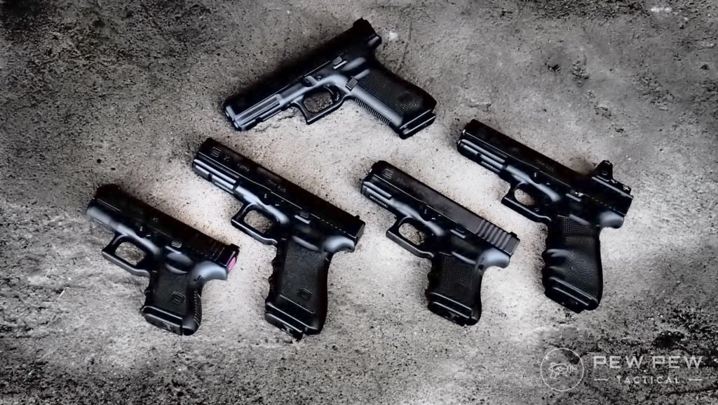 Set of Glocks