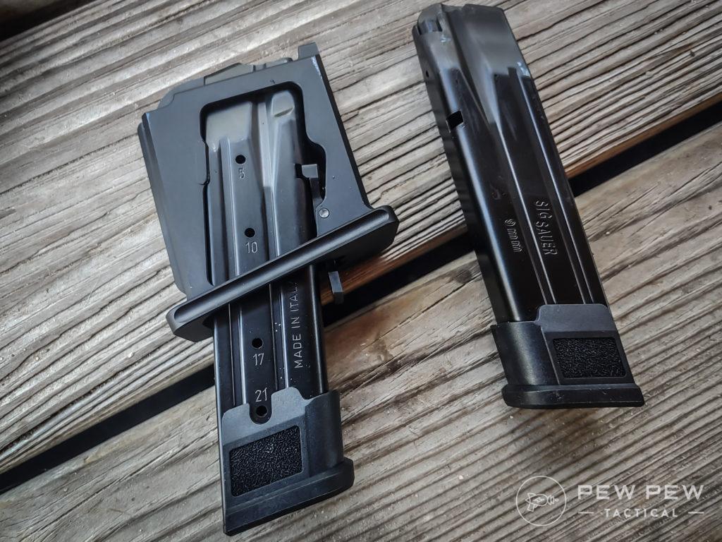 sig P320 AR MAG X kit