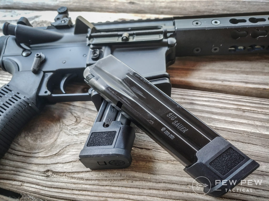 sig P320 AR and P320 mags