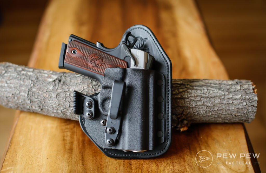 EMP in Hidden Hybrid Holster, Appendix ,Single Clip
