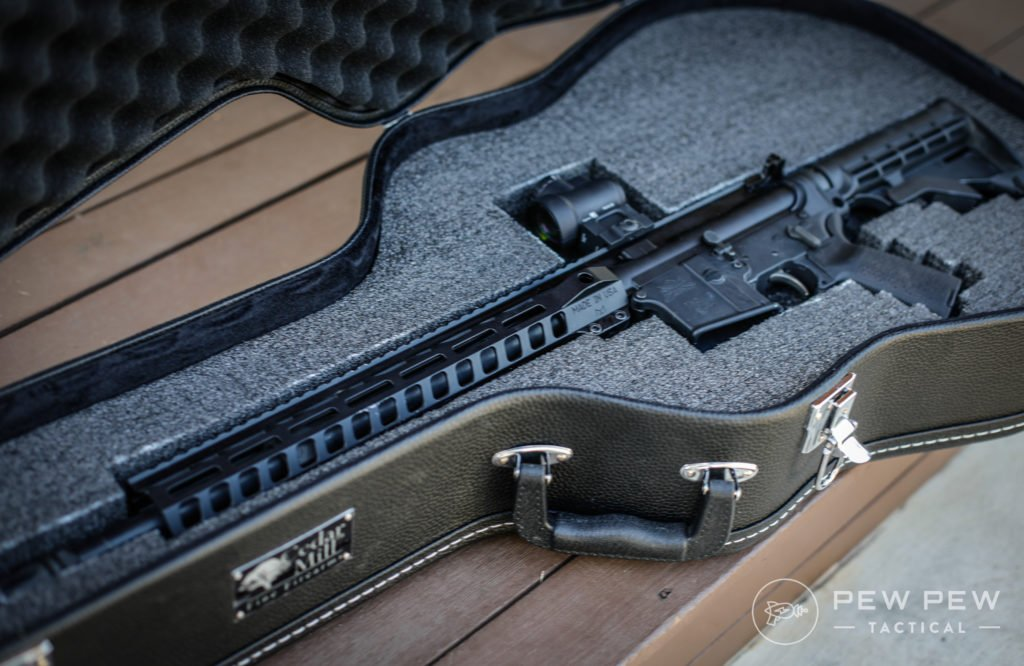 AR-15 in Cedar Mill Guitar Gun Case