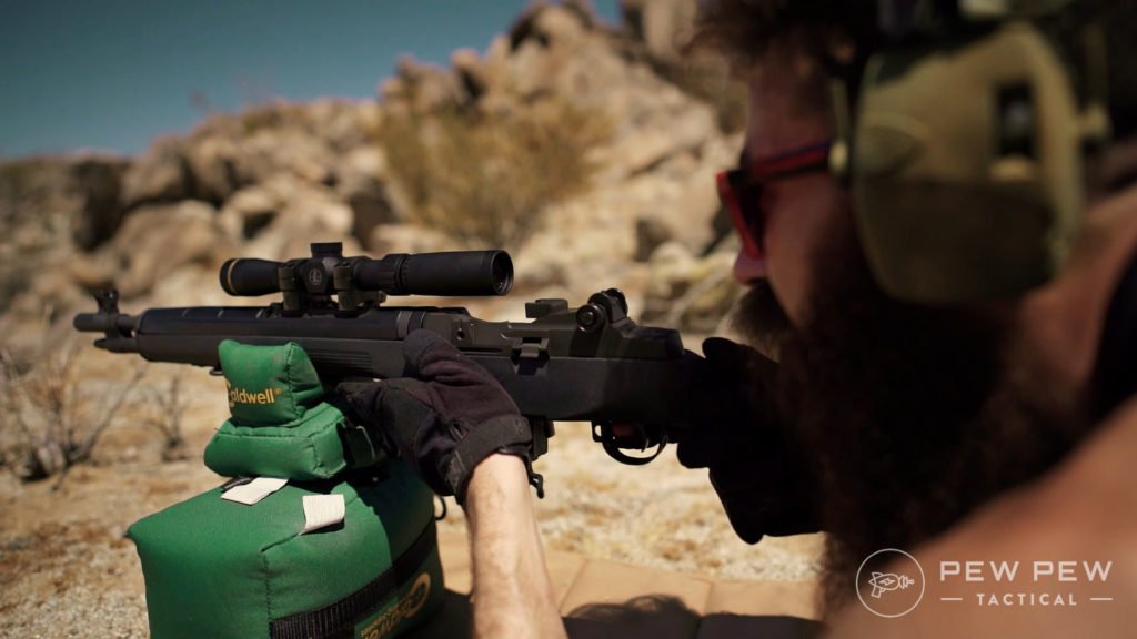 Scoped M1A and Beard Problems