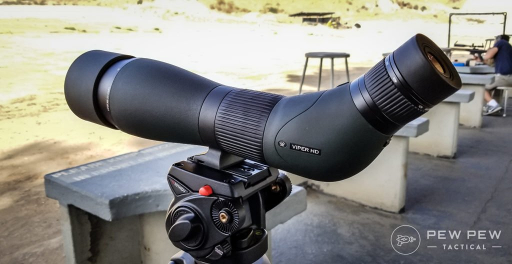 Viper Spotting Scope, Mounted
