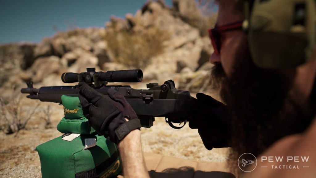 Socom 16 with Leupold Scout Scope