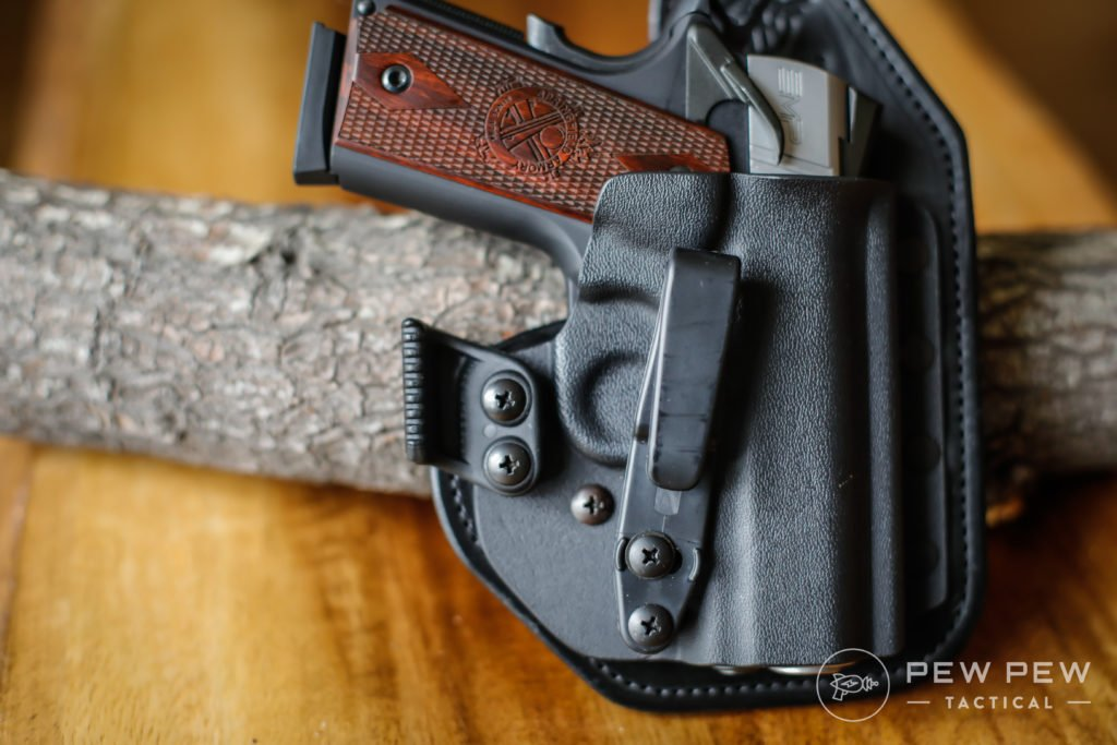 Hidden Hybrid Holsters, Claw Attachment
