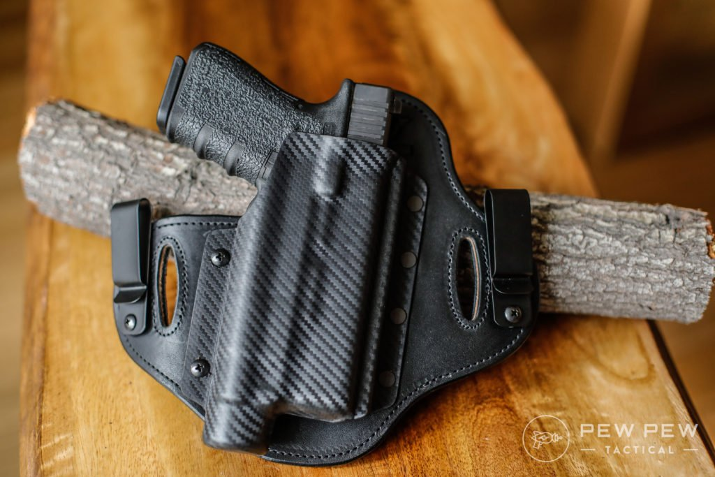 Glock 19 with TLR-1 in Hidden Hybrid Holster