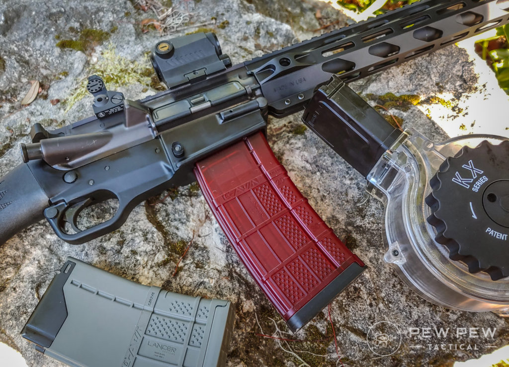 Ares SCR and a range of magazines