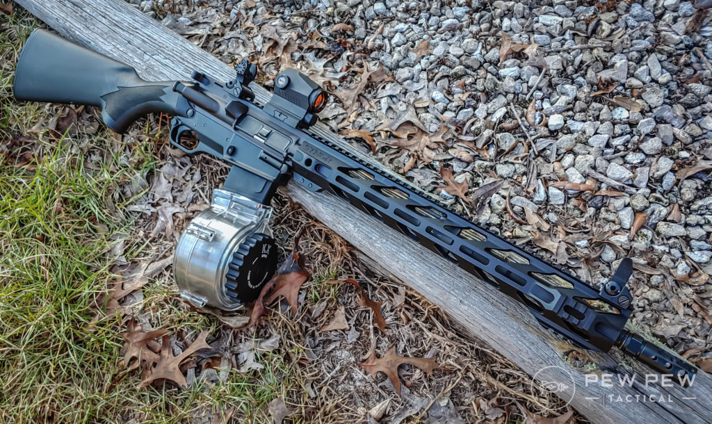 Ares SCR with a log