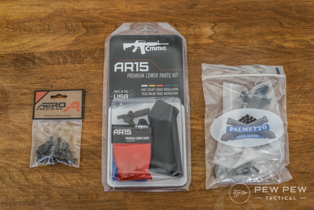 Assorted AR-15 LPKs