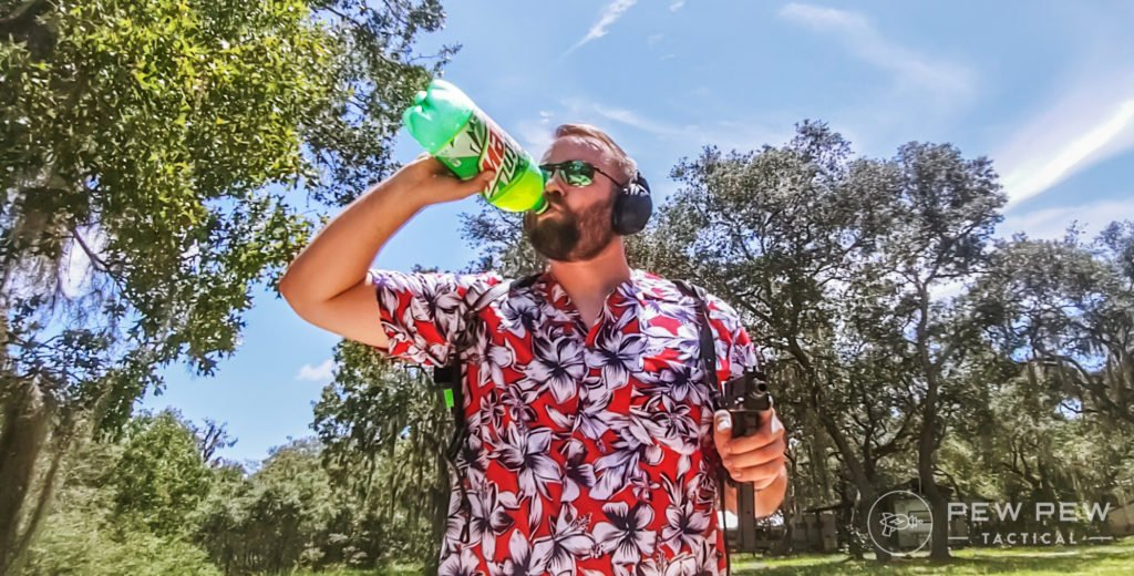 Cobray M11 and MTN Dew