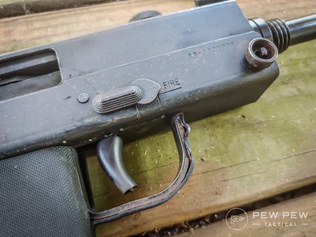 Cobray M11 on the deck