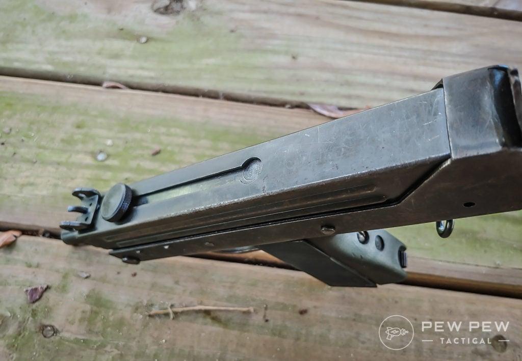 Cobray M11 top view
