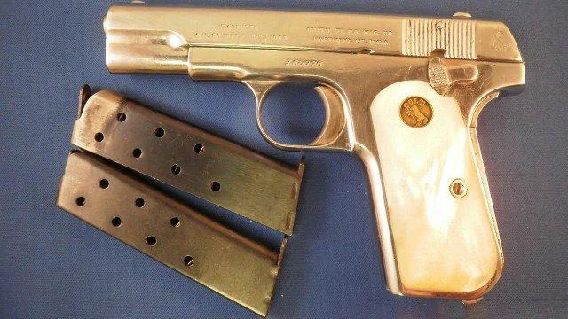 Pattion 1908 hammerless